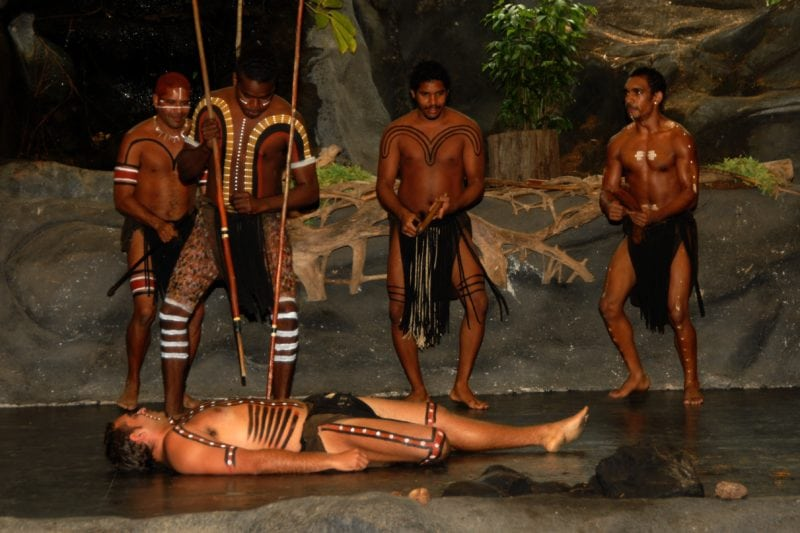 Aborigine performance