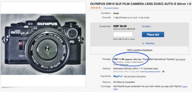 olympus film camera