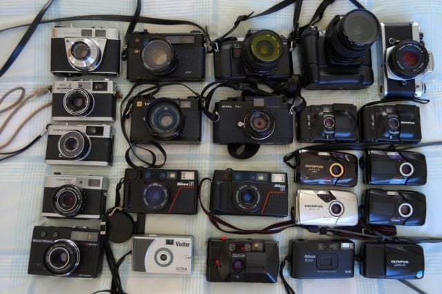 film photography cameras 35mm 120mm