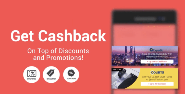 get cashback on top of discount
