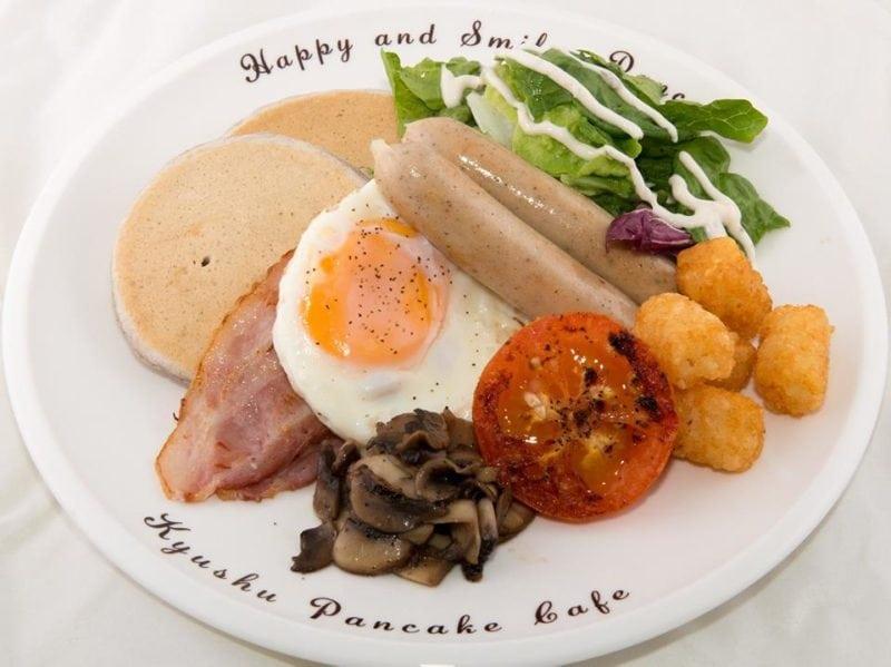 big breakfast at kyushu pancake singapore