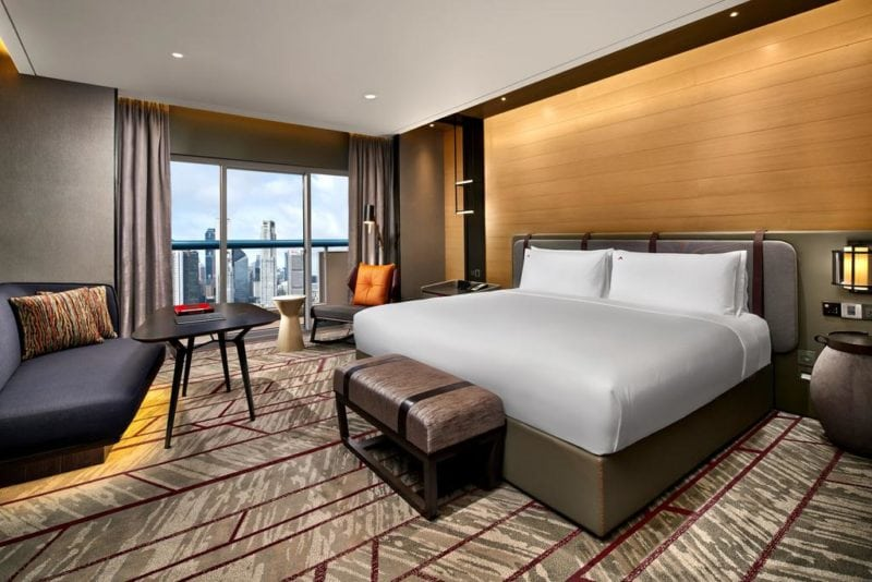 room at the Swissotel singapore