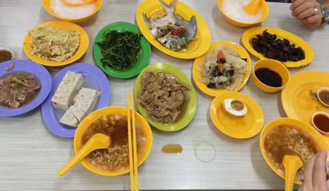 ye shang hai teochew porridge supper