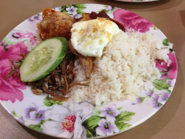 mizzy's corner nasi lemak supper