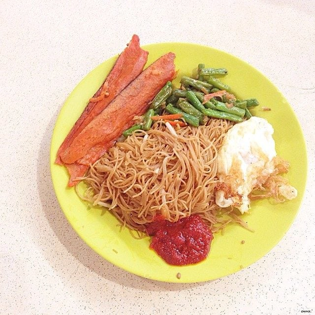 ah lian bee hoon pioneer mrt supper