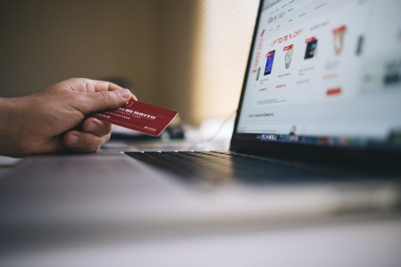 buying online during sales