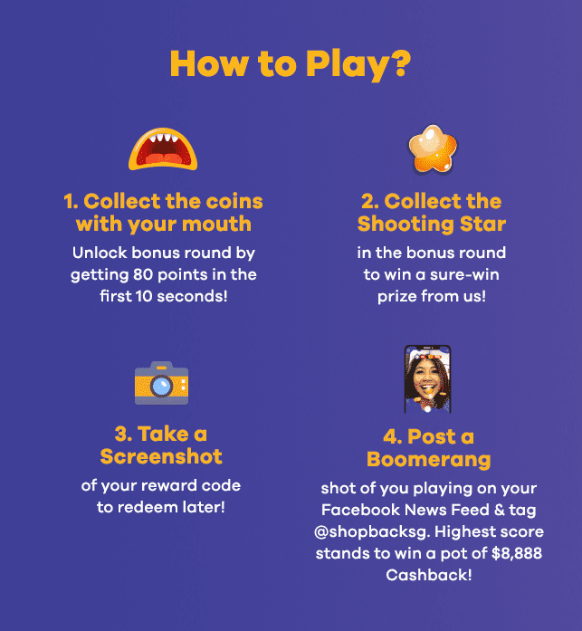 purple infographics on how to play Facebook game