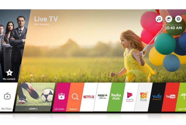LG TV WebOS