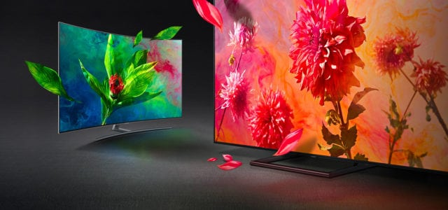 Samsung QLED TV Colours
