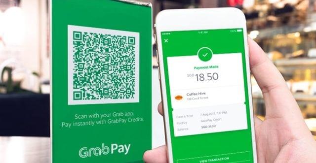 GrabPay Mobile Wallet E-Wallet Payment