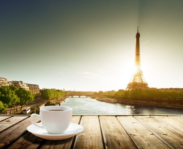 Coffee In Europe Paris