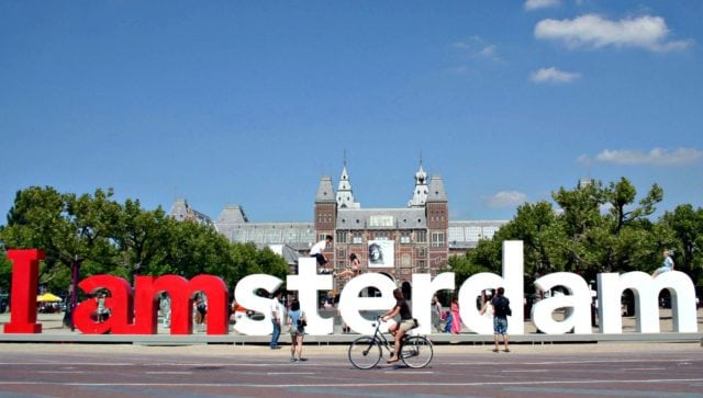 Europe Amsterdam I Amsterdam Sign