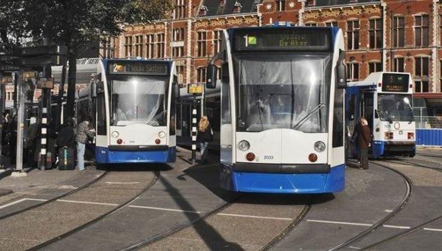 Europe Amsterdam Tram