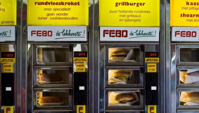 Europe Amsterdam FEBO Wall