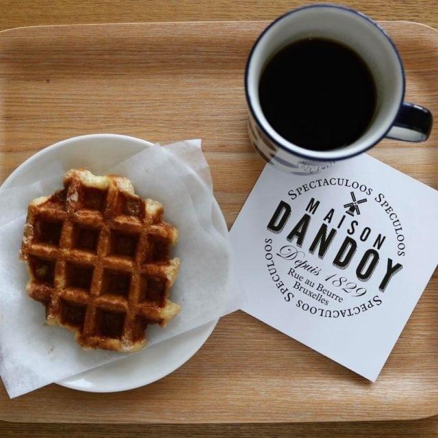 Europe Brussels Belgian Waffles Maison Dondoy