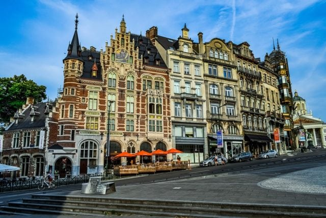 Europe Brussels Architecture