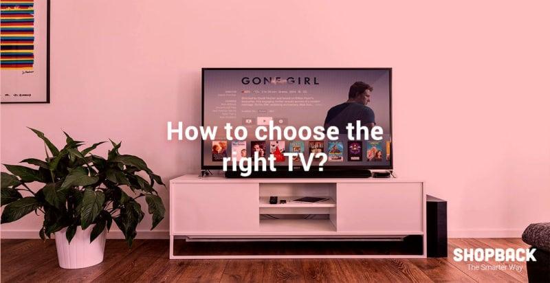 Big HD tv in living room