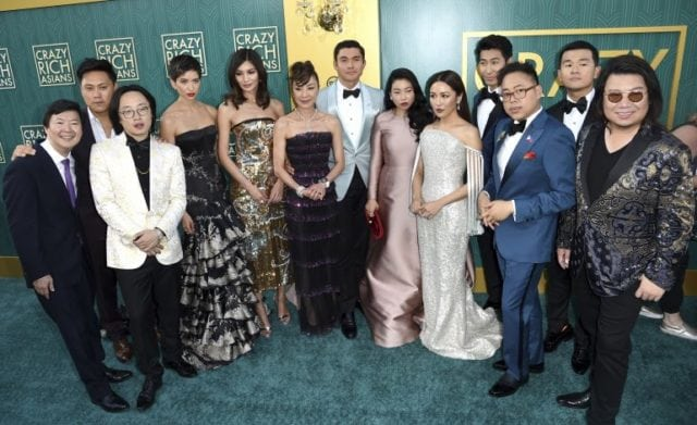 Cast in the Premiere of Crazy Rich Asians