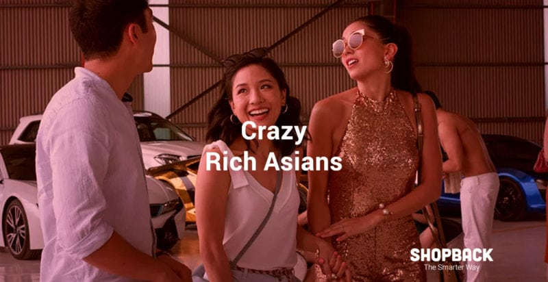 Scene of Crazy Rich Asian Movie