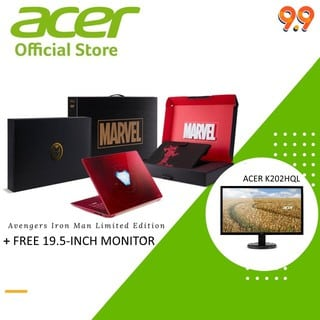 Acer Avengers Iron Man Swift 3 Laptop