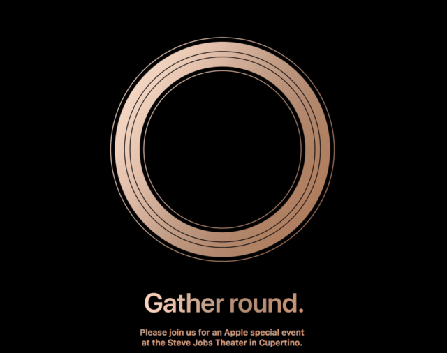 Apple's Gather Round Invite