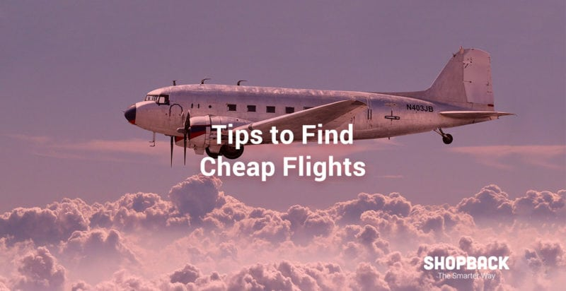 Tips to find teh best cheap flights with shopback