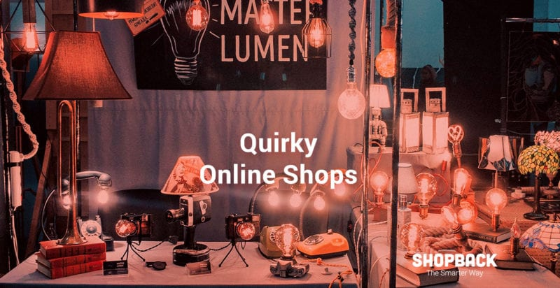 quirky unique online shops