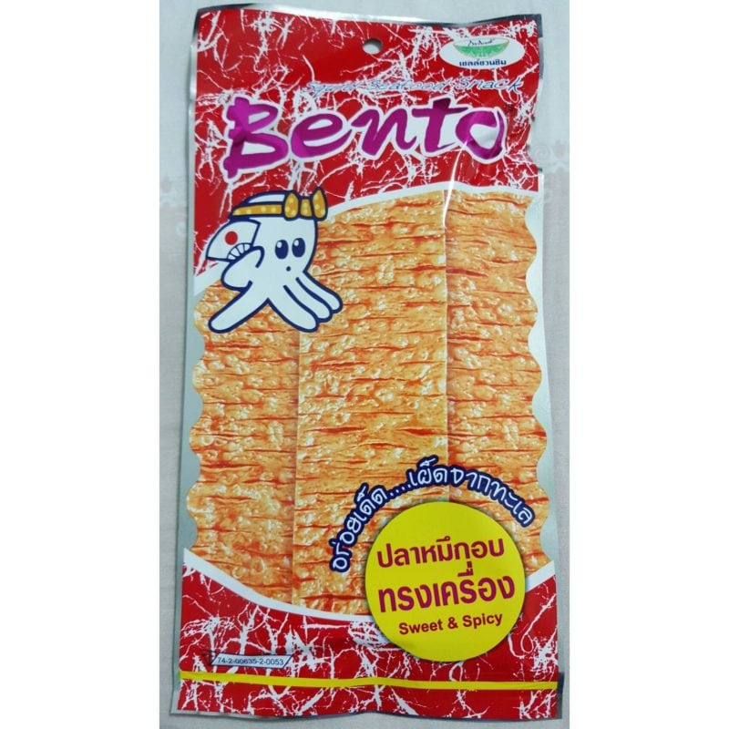 Bento dried squid snack