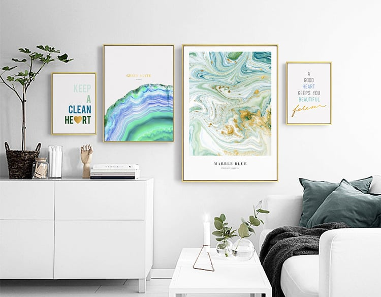 decorative wall art and poster