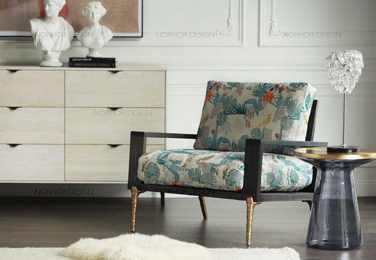 Norhor statement chair sofa taobao