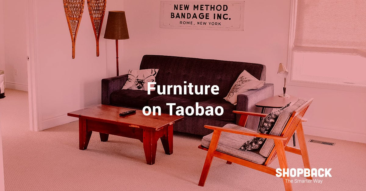 Update Your Home Decor With Taobao's Home & Living Sale