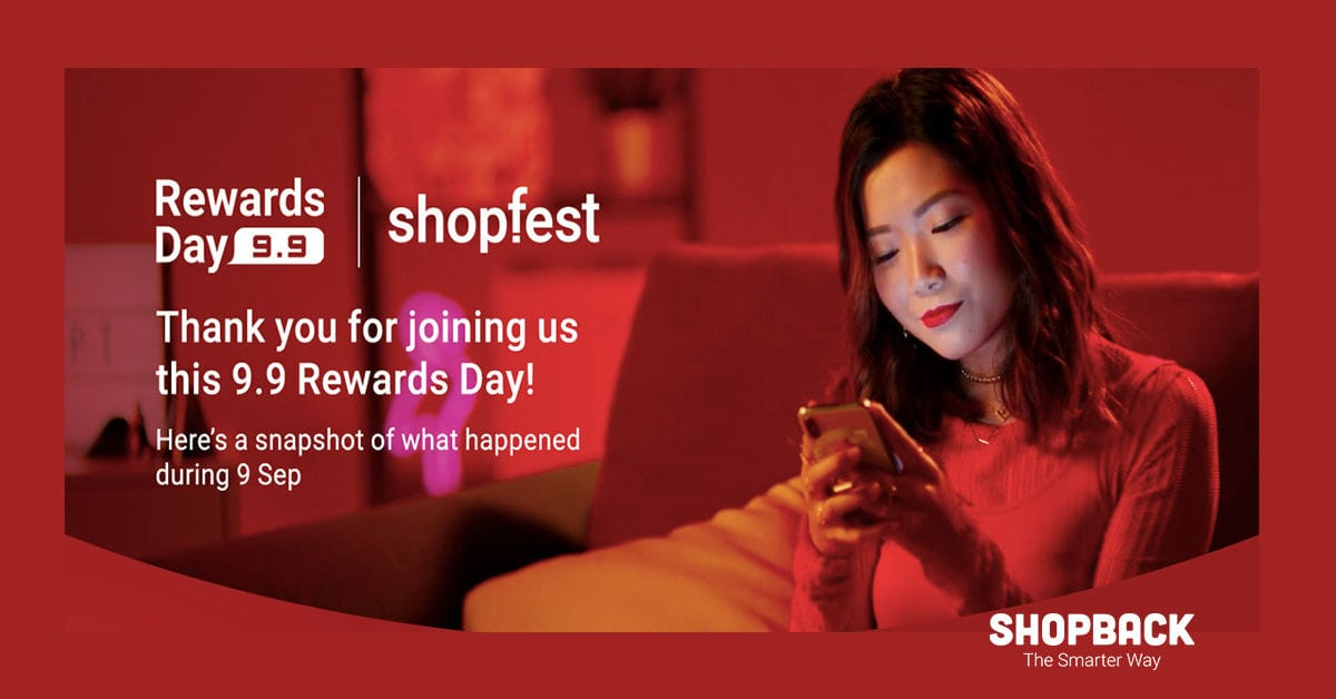 9.9 Rewards Day Recap – What Shoppers Bought and Saved During The Sales (Infographic)