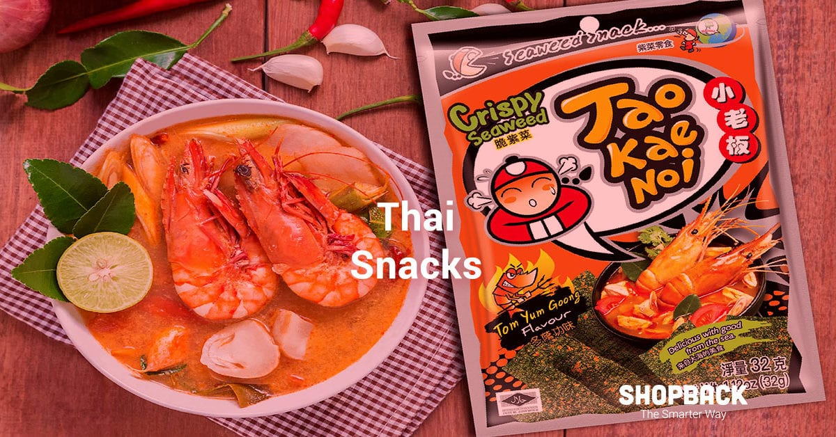 Sweet & Savoury: The Best Thai Snacks You Can Buy Online!