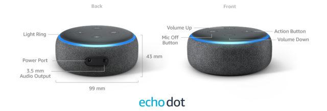 Echo Dot 3 Close Up