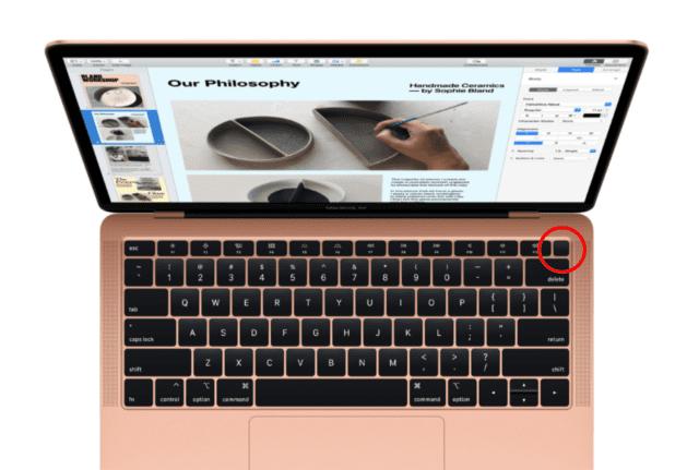 Apple MacBook Air Touch ID