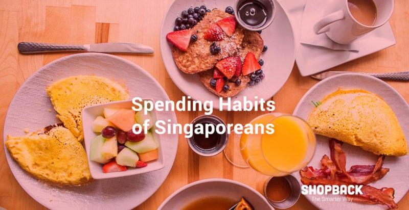 infographic spending habits of singaporeans