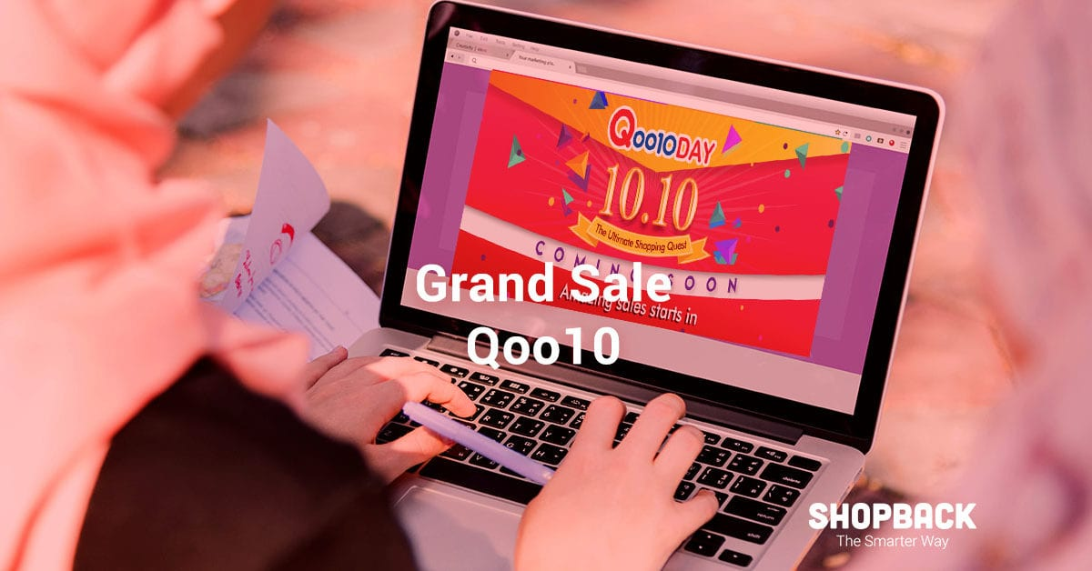 Get Ready For Qoo10 Grand Sale: Best 10.10 Deals to Look Out For
