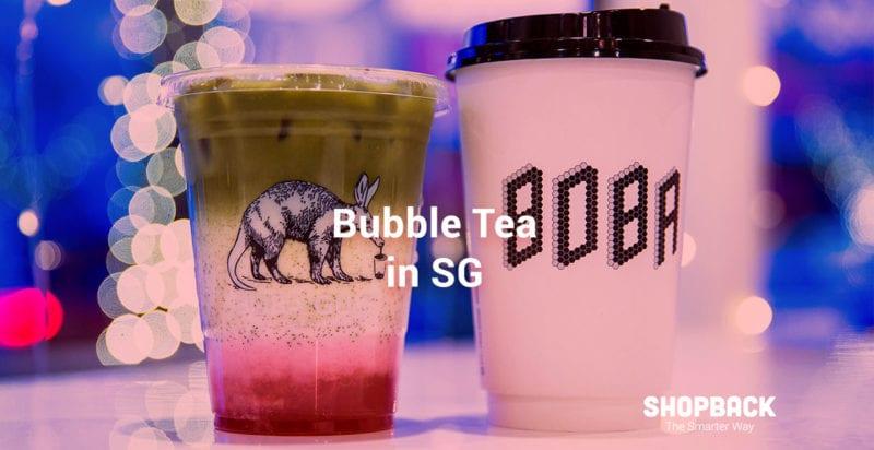 bubble milk pearl tea in singapore