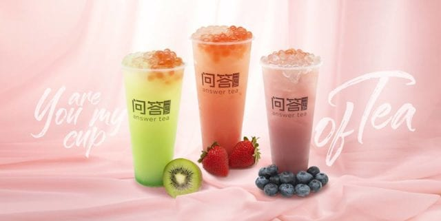 Bubble Tea | Answer Tea Singapore
