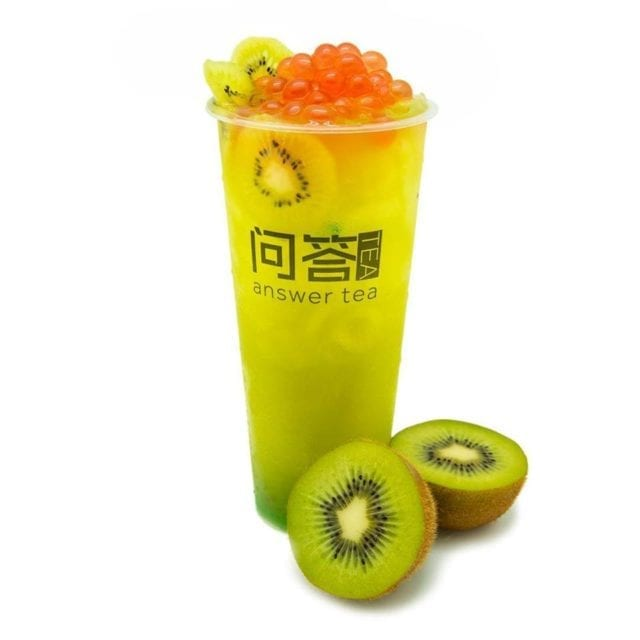 Bubble Tea | Kiwi Boba Tea