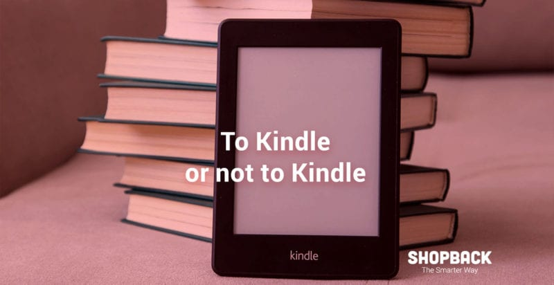 save on books with kindle paperwhite