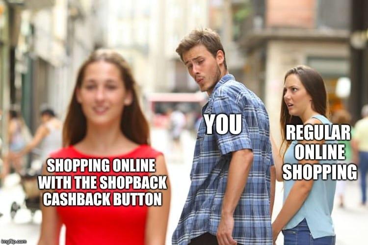 ShopBack Cashback Button FOMO