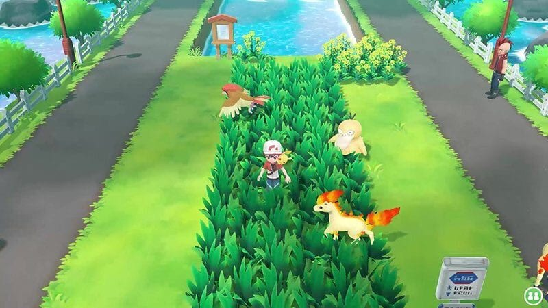 Pokemon Let's Go Wild Pokemon