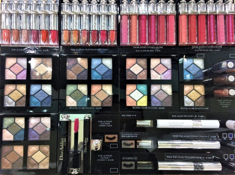 beauty bar of many colours cosmetics