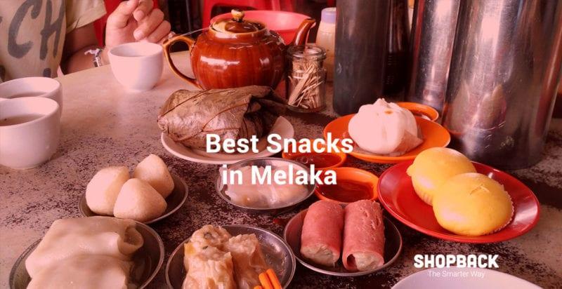 snack and street food in melaka