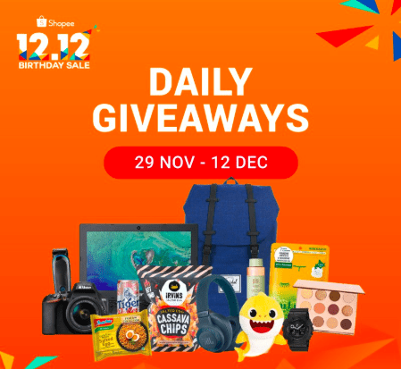Shopee Daily Giveaway