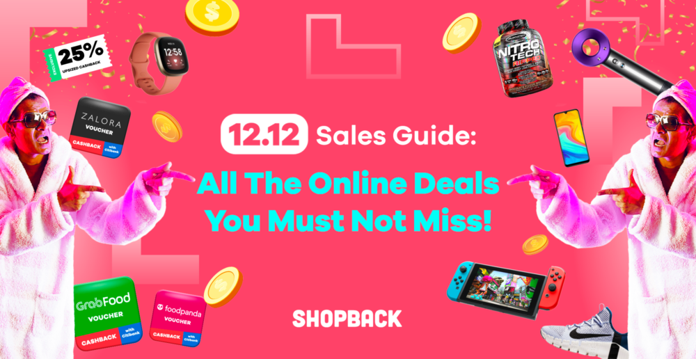 12.12 sales guide singapore shopback