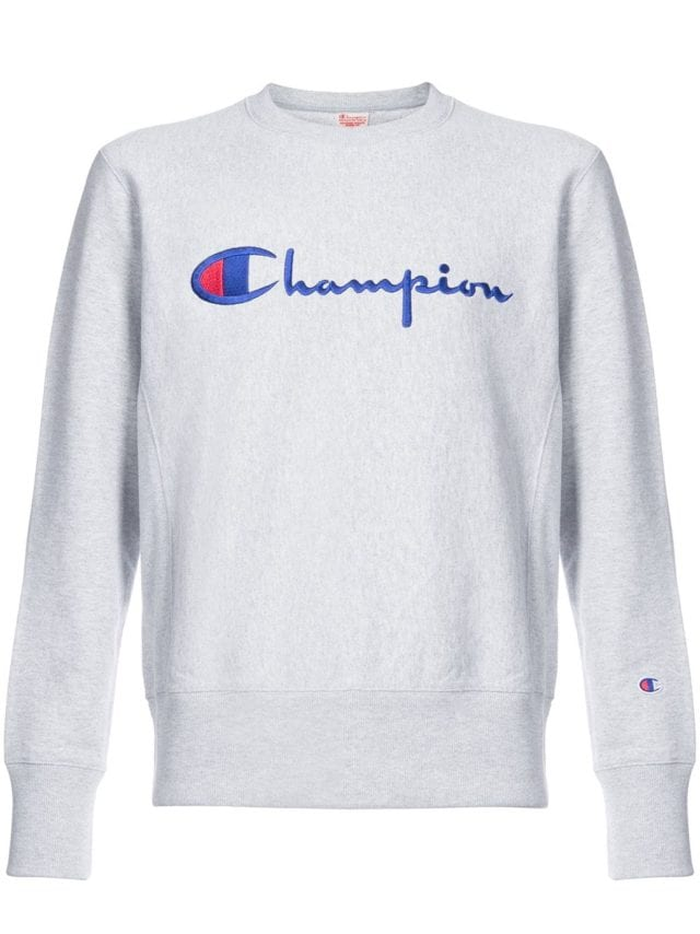Champion Logo Jersey Sweater