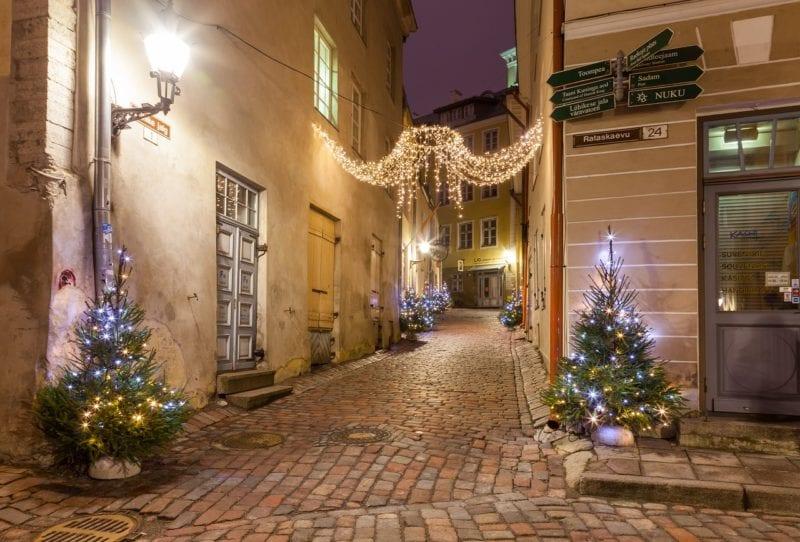 Christmas Europe Break Tallinn