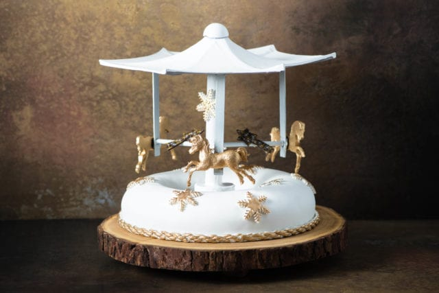 Intercontinental Carousel Fruit Cake